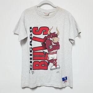 Vintage Chicago Bulls Double Sided Tshirt Medium